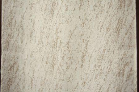 dettaglio tessuto misto lino con stampa astratta tortora